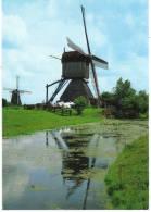 Nederland/Holland, Kinderdijk, Wipmolen De Blokker, Ca. 1990 - Kinderdijk