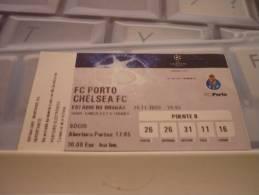 FC Porto-Chelsea FC/Football/UEFA Champions League Match Ticket - Match Tickets