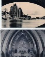 Solesmes-4cpa,vue Sous Le Pont,2 Petit Séminaire,intérieure De L'église - Solesmes