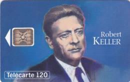 TELECARTE 120 U @ Grandes Figures Des Télécommunications N° 11 Robert KELLER SC5 100 000 Ex @ 02/1993 - France