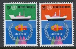 UN New York 1974 Michel 277-278, MNH** - New York -  VN Hauptquartier