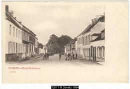 12017g PETIT FAUBOURG - Tubize - 1902 - Tubize