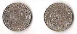 GABON  100 FRANCS  1971 - Gabon