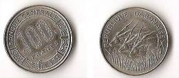 GABON  100 FRANCS  1972 - Gabon