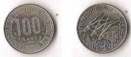 GABON  100 FRANCS  1975 - Gabon