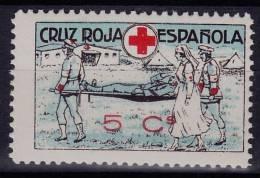 GUERRA CIVIL -  *** MNH, CRUZ ROJA ESPANOLA, 5 CENTIMOS - Vignettes De La Guerre Civile