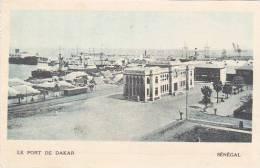 Senegal Dakar Le Port De Dakar
