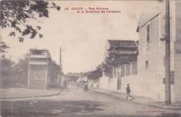 Senegal Dakar Rue Vincens Et La Direction De L'Arsenal - Senegal