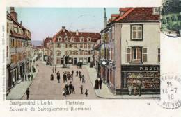 SARREGUEMINES (57) Rue Commerces Animation - Sarreguemines