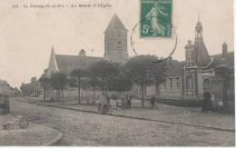 .LE PERRAY ( La Mairie Et L' Eglise ). - Le Perray En Yvelines