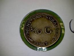 Curaçao  1947 1/10 Gulden (2) - Curacao