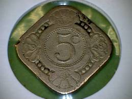 Curaçao  1948  5 Cent - Curaçao