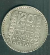 20 FRANCS TURIN ARGENT 1934  - Ah7003 - L. 20 Francs