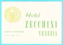 Hotel Zecchini - Venezia, Lista Di Spagna, Maps - Sculptures
