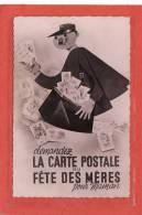 POSTES ET FACTEURS / Demandez La Carte Postale De La Fête Des Mères Pour Maman - Poste & Facteurs