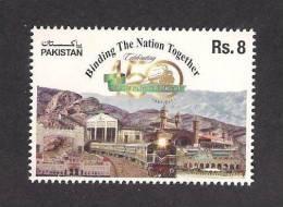 2011 Pakistan 150 Years Of Railway Train 1v MNH - Trains