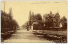 77-COMBS-la-VILLE-Avenue De La Forêt. - Combs La Ville