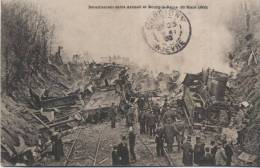 92 - Bourg-la-Reine - 94 - Arcueil - 30 Mars 1905 - Déraillement Du Train Entre Arcueil Et Bourg-la-Reine - Bourg La Reine