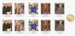 Australia 2012 Nobel Price Winners  Booklet MNH - 2010-... Elizabeth II