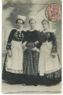 CPA Jeune Filles De Bannalec Et De Scaer Du 13/06/1907 - Bannalec