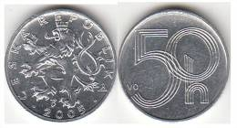 REPUBBLICA CEKA - 50 HALERU - 2005 - Circolata - Repubblica Ceca