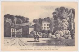 (RECTO - VERSO) RUEIL MALMAISON EN 1904 - PARC DE LA  MALMAISON - PAVILLON DES GUIDES - EPOQUE DU CONSULAT - - Rueil Malmaison