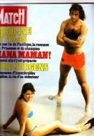 Paris Match 1727 Presley  Vartan  Lefebvre Hallyday Beyrouth Lady Di Tchad - People
