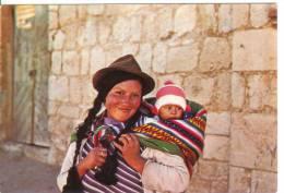 BOLIVIE - Femme Et Enfant - Bolivie