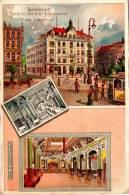 Hannover, Hotel Zu Den Vier Jahreszeiten (2 Scans) - Hannover