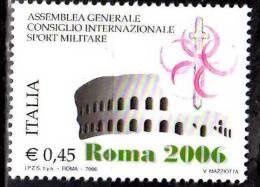PIA - ITALIA - 2006 : Assemblea Generale Del Consiglio Internazionale Sport Militare   - (SAS  2911) - 6. 1946-.. Republik