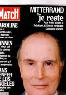 Paris Match 2242 Mitterrand Sharon Stone Elsa Caroline - People