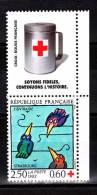 FRANCE / 1992 / Y&T N° 2783 (de Carnet Avec Vignette) ** : Croix-Rouge (Tomi Ungerer) - Gomme D'origine Intacte - France