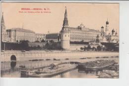 RU - RUSSLAND MOSKAU, Vue Du Kremlin - Binnneschiffe, 1902, Early Card - Undivided Back - Russland