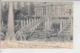 RU - RUSSLAND PETERHOF, Palais Imperial à Peterhof 1902 - Russland
