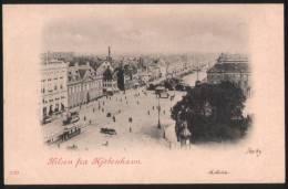 Denmark  Kobenhavn - Copenhagen 1899 Postcard - General View - Danemark