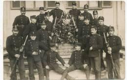 Ruegsau  Carte Photo Real Photo Militaires Cachet Milit. Guerre1914 WWI Photo Keller Bern - BE Berne