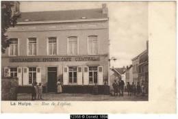 12358g BOULANGERIE - EPICERIE - CAFE Central - Rue De L'église - La Hulpe - La Hulpe