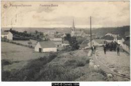 12445g ATTELAGE - Fontaine-Valmont - 1910 - Merbes-le-Château