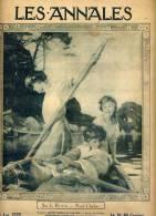 """LES ANNALES-- 6 Juin 1920--Tableau CHABAS""""Sur La Rivière""""couverture Signé Reunke--pubs Malaceine(soin Féminin) - Livres, BD, Revues"""