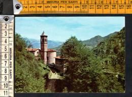 """D666 Capovalle ( Brescia )  - Santuario Del Rio Secco Sulla Strada Del Passo Fobbia / Timbro Trattoria """" Da Tullio """" - Italie"""
