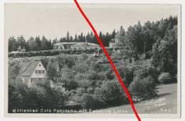 Foto PostCard  - Marienbad Cafe Panorama Mit Parkvilla Lucha - Gelaufen 1934 - Sudeten