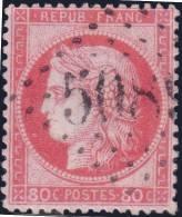*PROMO* GC 5089 (JAFFA) Sur 80c CérèsTB  (BFE, Cote +++€) - 1849-1876: Période Classique