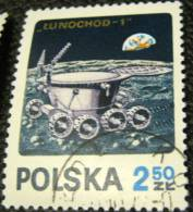 Poland 1971 Lunochod-1 On The Moon Space 2.50zl - Used - Used Stamps