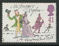 "Great Britain 1993 Mi 1487 ** ""Mr. Scrooge´s Nephew"" -""A Christmas Carrol"" By Charles Dickens (1812-1870) - Schrijvers"
