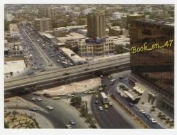 (64761) Arabie Saoudite Aerial View Of Jeddah ; Vue Aérienne De Jeddah  Vue Aérienne De Jeddah ; Bus Voitures - Arabie Saoudite