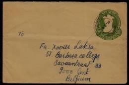 COVER - 1983  HATHI POTHA JALPAIGURI ( West Bengal ) To GENT ( Belgium) To St Barbaracollege - Enveloppes