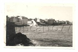 Paramé (35) : Vague Ensevelissant L'Hôtel De La Paix  En Août 1936 (animée) PHOTOGRAPHIE RARE. - Bateaux