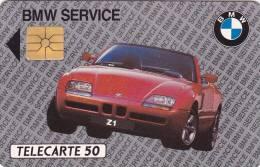 TELECARTE 50 U @ BMW Z1 @ 02/92 Gem 2° Logo Moréno - 10 011 Ex - Auto Voiture - France