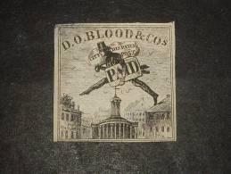 Local -D O  BLOOD Et COs  Avec Gomme Et Charniere Papier  Petit Aminci - 1845-47 Emissions Provisionnelles