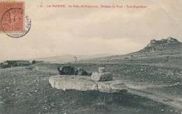 LA BASTIDE - Le Palet De Gargantua - Dolmen Du Tord - Voie Regordane - Carte Postée à SAINT LAURENT LES BAINS En 1906 - Other Municipalities